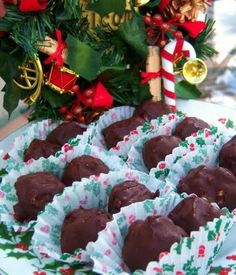 Chocolate covered Peanut Butter Crispy Candies