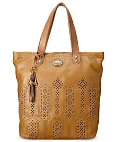 Fossil Handbag, Campbell Leather Tote