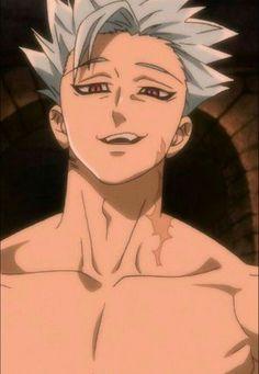 Ban / The Seven Deadly Sins / Nanatsu no Taizai Seven Deadly Sins Anime, 7 Deadly Sins, Hot Anime Boy, Cute Anime Guys, Anime Love, Anime Angel, Anime Kiss, Ban Anime, Animé Fan Art