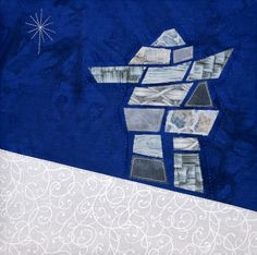Inukshuk Applique | Quilts By Jen