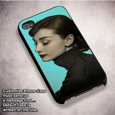 Audrey Hepburn Retro Phone Case - For iPhone 4/ 4S/ 5/ 5S/ 5SE/ 5C/ 6/ 6S/ 6 PLUS/ 6S PLUS/ 7/ 7 PLUS Case And Samsung Galaxy Case