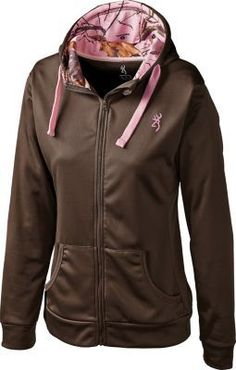 << TheWeighWeWere.com >>  Browning® Women's Performance Full-Zip Jacket. I am not a fan of pink camo, but this is really cute!