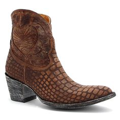 "Old Gringo 7"" Brass Vigevano Boot at Maverick Western Wear"
