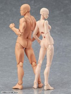 Figma Archetype 'Next' Articulated Figurines --- drawing models