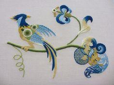 Royal School of Needlework. Beautiful.