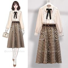 Fashion Drawing Dresses, Fashion Illustration Dresses, Fashion Dresses, Cute Casual Outfits, Casual Dresses, Short Dresses, Themed Outfits, Korean Outfits, Designer Dresses