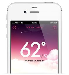 20 Beautifully Designed Weather Apps & Concepts