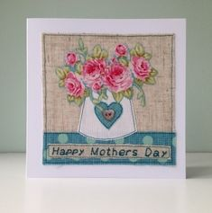 Mothers Day Card - Floral Bouquet £7.95