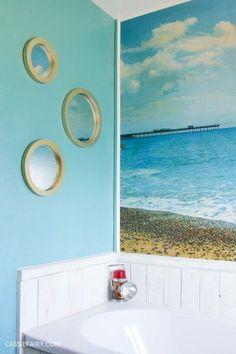 e7cd073b1df 29 Best beach hut bathroom images
