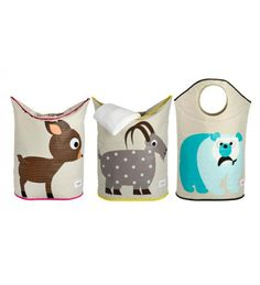 3 Sprouts Laundry Hampers. Convenient and cute!