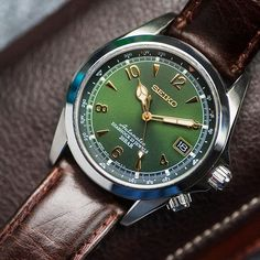 Seiko Alpinist Sarb017 - $390 Very cool Seiko with a gorgeous green dial and compass markers. Sometimes hard to find in US markets.