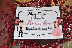 Party Planning Ideas: Princesses & Pirates!