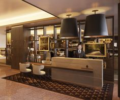 Design Impression, InterContinental Concierge desk.