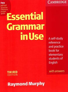 Cambridge - English Grammar in Use (Essential) Ed) by marta lecue garcia - issuu English Grammar Book Pdf, English Learning Books, English Grammar Worksheets, English Writing Skills, Grammar And Vocabulary, Learn English Words, English Book, English Lessons, English Vocabulary