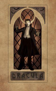Dracula Nouveau  Art Print Classic Monster Movies, Classic Horror Movies, Classic Monsters, Gothic Horror, Arte Horror, Halloween Horror, Halloween 2020, Halloween Art, Vintage Halloween