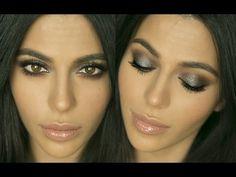 Metallic Smokey Eye Makeup   Eye Makeup Tutorial   Teni Panosian - YouTube