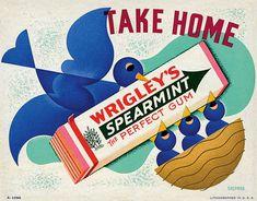 20th CENTURY AMERICAN GRAPHICS : Otis and Dorothy Shepard, the 'Scott and Zelda' of mid-century advertising graphics.
