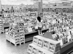 "The arrival of the Peaches record ""superstore"" in Omaha, shown in this Aug. 20, 1979, photo, might have spelled doom for smaller stores. Instead, its presence seemed to be a shot in the arm for the local industry. ""You can have one gas station on a corner and it does well, but if you have gas stations on all four corners, all of them do better,"" said Bob Swan, chain buyer for electronics and records for Richman Gordman stores. Peaches opened May 25 of that year near 75th & Pacific Streets."