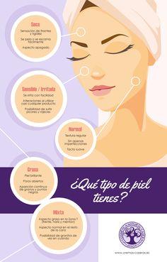 Descubre qué tipo de piel tienes para hacer las recetas naturales que mejor te vengan.