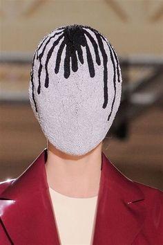 Fashion Mask, Couture Fashion, Dark Fashion, High Fashion, Margiela Mask, Rare Clothing, Exquisite Corpse, Androgynous Fashion, Fetish Fashion