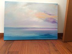 Big Canvas White Sea marine painter by italianmarinepainter