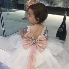 """Birthday girl in our Princess Hannah Dress   To order go to ittybittytoes.com and search """"Hannah""""  Or go to: http://ift.tt/2b4KpL3"""