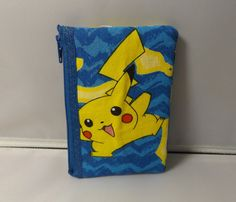 Pokemon  Fabric Coin Purse Handmade  Nintendo OOAK by kraftyminds