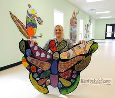 Many had hands in new Hope Center artwork | Latest News Gallery | Kentucky.com