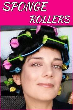Sponge Rollers Tutorial Hair Rollers Tutorial, Sponge Hair Rollers, Increase Hair Volume, Sleep In Hair Rollers, Roller Curls, Beauty Youtubers, Heatless Curls, How To Curl Your Hair