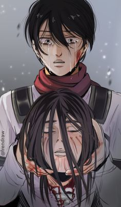 Attack On Titan Season, Attack On Titan Funny, Attack On Titan Fanart, Eren Aot, Eren X Mikasa, Sad Anime, Manga Anime, Anime Art, Aot Characters