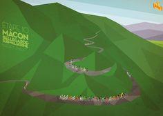 The peloton starts to break up as we head into the mountains. 2012 Tour de France Stage 10 #BurnsLikeBradley