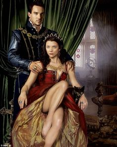 The Tudors :) Discovered it on Netflix almost two weeks ago and am already into season 2! One of my favorites :)