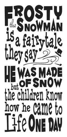 Christmas Holiday STENCIL**Frosty the Snowman**12x24 for signs crafts scrapbook #Unbranded