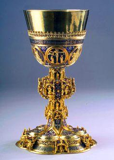 Calice de Benedicto Suki  hallado en Transilvania 1437-1440  Museo de Budapest