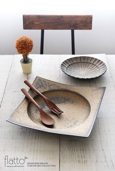 銅彩釉 角皿(特大)/作家「水野幸一」/和食器通販セレクトショップ「flatto」