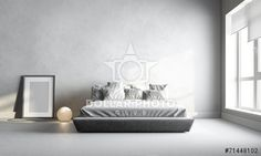 https://www.dollarphotoclub.com/stock-photo/3d render of white bedroom/71448102 Dollar Photo Club millions of stock images for $1 each