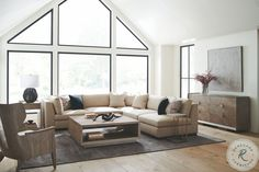 Savesto Ivory Small RAF Sectional from Ashley   Coleman Furniture Ashley Sofa, Types Of Sofas, Southern Homes, Wood Square, Online Furniture Stores, Build Your Dream Home, Occasional Chairs, Living Room Sets, Interior Design Services