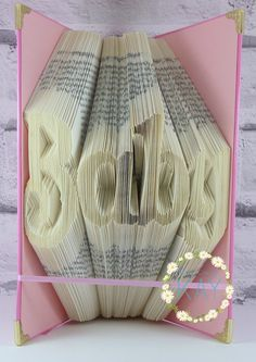 Book folding Pattern 'Baby' with free tutorial...  Use discount code MAY20 for 20% off all orders, valid until the end of May 2015 x