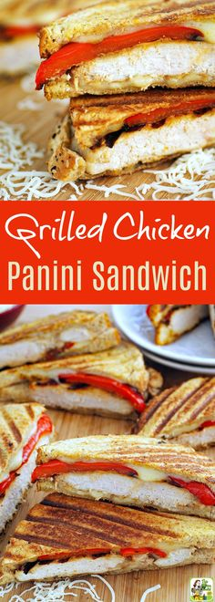 This grilled chicken panini sandwich recipe is ideal for busy weeknights. Greek yogurt marinated chicken makes it super tasty. Panini Recipes, Easy Sandwich Recipes, Vegan Recipes Easy, Grilling Recipes, Real Food Recipes, Vegetarian Sandwiches, Wrap Recipes, Greek Yogurt Bread, Greek Yogurt Recipes
