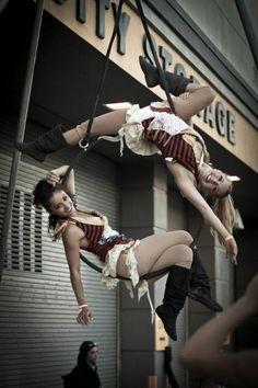 Aerial Circus - Lyra/Hoop Doubles/Duo