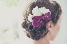#Brautfrisur#FriseurGelsenkirchen #Dutt#SpiegleinSpieglein#hair#bride#Blumen#flechtfrisur