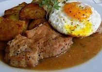 Pork loin on garlic - Vepřové karé na česneku recept - TopRecepty. Czech Recipes, Ethnic Recipes, Slovakian Food, Easy Cooking, Cooking Recipes, Pork Loin, Top Recipes, Food 52, Curry