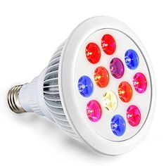 LED Grow Light Bulb, 24W Full Spectrum High Efficient Hydroponic Plant Grow Lights for Garden Greenhouse and Hydroponic Aquatic - Brought to you by Avarsha.com