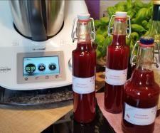Rezept Himbeer-Balsamico-Essig...Rezept des Tages v. 31.07.16 !!! von Iris' LilaLauneKüche - Rezept der Kategorie Grundrezepte