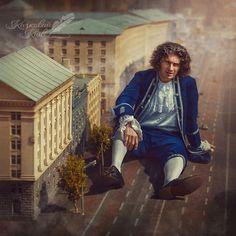 """Gulliver  """"Gulliver's Travels""""  Кузьма Скрябін в образі Гулівера"""