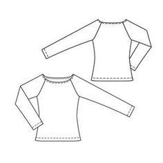 burda style magazine 02/2010 Long Sleeve Top #112 A – Sewing Patterns   BurdaStyle.com