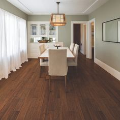 shop natural floors by usfloors 5in brushed spice handscraped bamboo hardwood flooring - Lowes Bamboo Flooring
