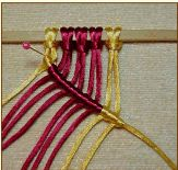 macrame tutorial... Ma, stop repining stuff on my account! And at least pin try to  them on the right board.