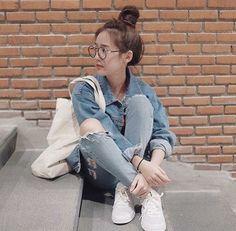 เท่ระเบิด Korean Fashion Work, Korean Fashion Winter, Korea Fashion, Asian Fashion, Girl Fashion, Fashion Outfits, Style Ulzzang, Ulzzang Fashion, Best Photo Poses