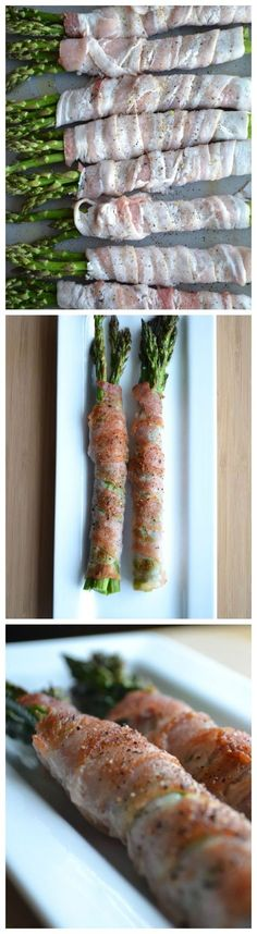 Bacon wrapped asparagus - perfect on the grill but can be made in the oven too.
